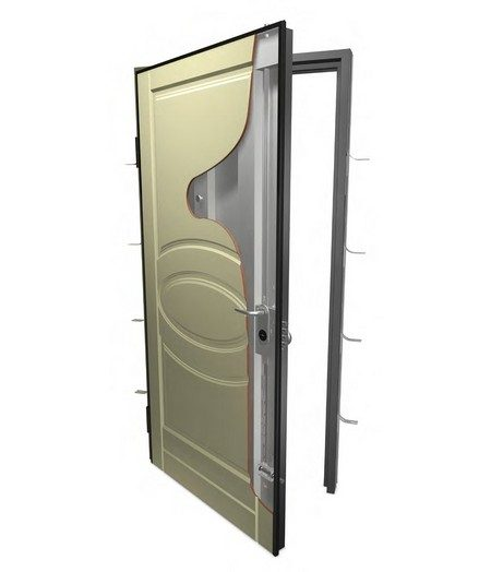 Puerta seguridad dm blindaje puertas de seguridad bogot Puertas de seguridad