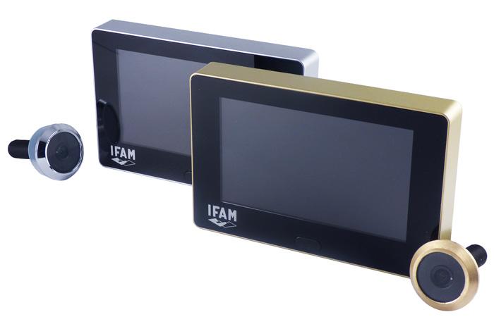 Ifam mirilla digital dm blindaje puertas de seguridad bogot - Mirillas digitales para puertas ...