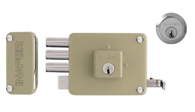 Schlage lock cerraduras de sobreponer dm blindaje for Precio de puertas home depot