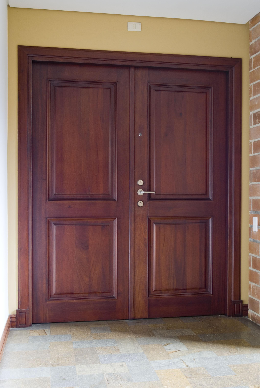 Puerta de seguridad con cerradura kale kilit doppia mappa Puertas de seguridad